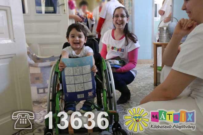 adományvonal támogatás 13636